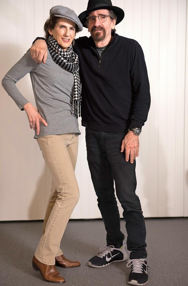 Frank with Diana Bloise