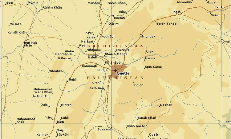 Quetta area