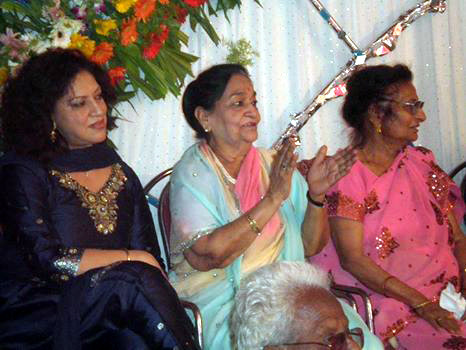 Raj Kalchuri, Kusum Singh and Rama Kalchuri  - 2011