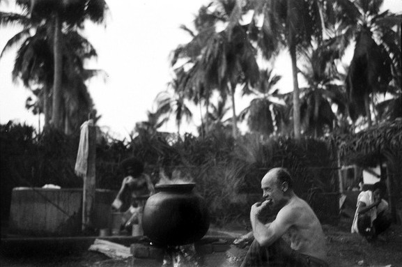 Feb.1954 : Gurukul, Rajamundry, Andhra, India ; Courtesy of MN Collection