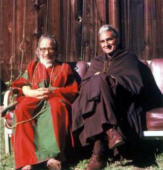 Murshid Samuel Lewis and Pir Vilayat Khan