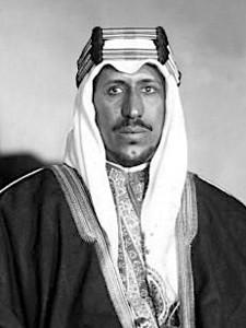 King Saud of Arabia