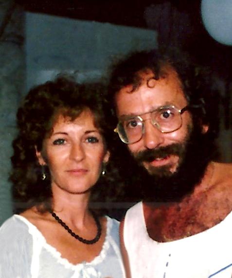 Tricia wth her husband Jim Migdoll