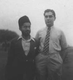 Murli with Baba's brother Adi Jrn.
