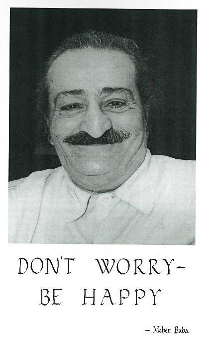 Meher Baba in Poona May 1957 ; Photo taken by Bhikubhai, Meelan Studio, Poona.
