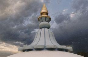 Taj Mahal - top spire