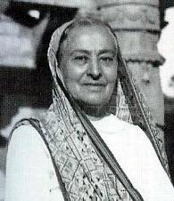 Shireen Irani ( Meher Baba's mother )