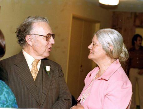 Filis Frederick & Lud Dimpfl, 1977-Courtesy of Ursula Reinhart