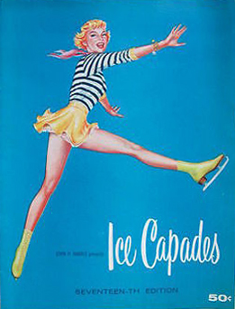 Nickadizzy-Ice Capades of 1956 program