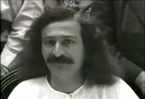 Meher Baba at Harmon