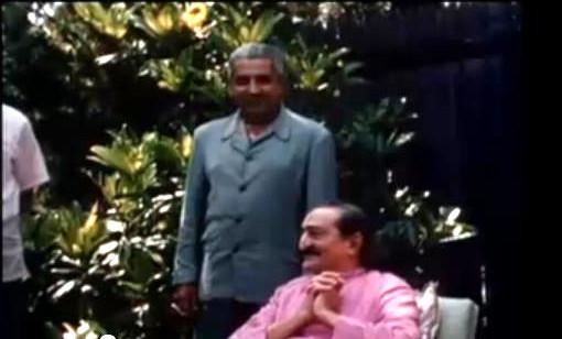 Baba with Adi K irani