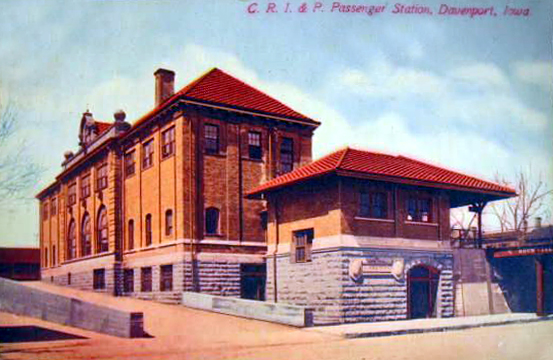 Davenport Railway Station