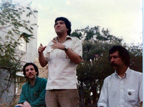 AMATITHI 1969 (L-R) Robert Dreyfuss, Allan Cohen & Rick Chapman