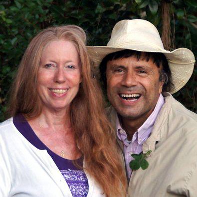 Ana with her husband Gary