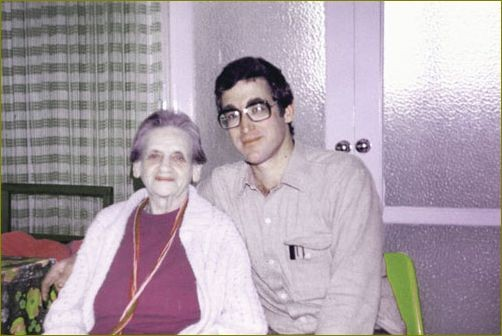 Carrie with Etzion Becker - Photo courtesy of - http://avatarmeherbaba-israel.com/