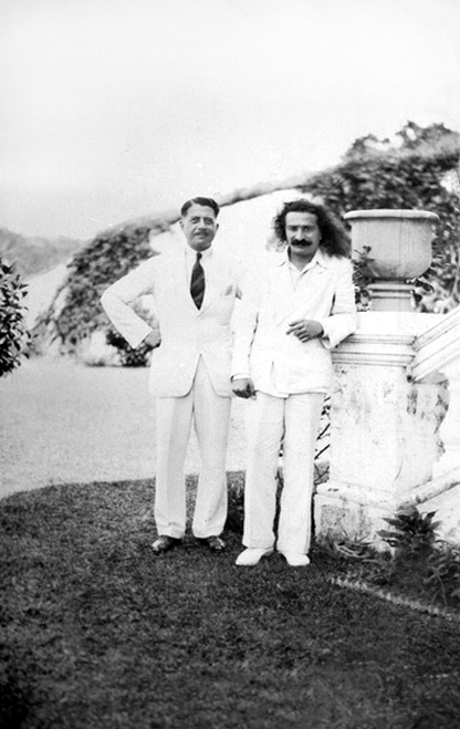 June 1932 : Meher Baba probably with an assosiate of Herbert Davy somewhere in China.