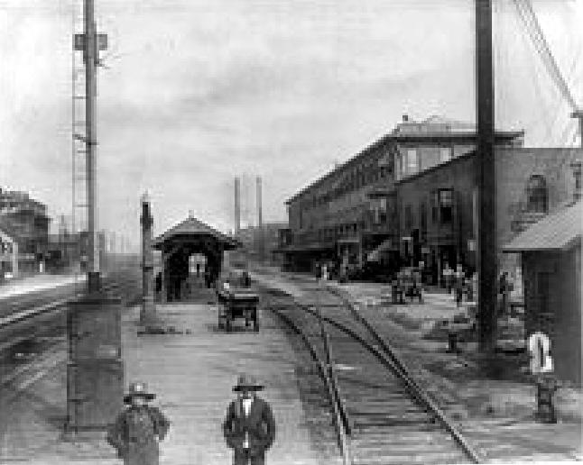 Dunkirk Railway Station ; 1890-1900