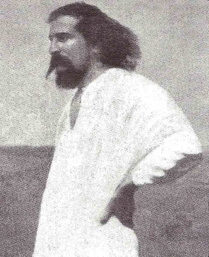 1930 ; Meher Baba at Meherabad photographed by Paul Brunton during his interview.