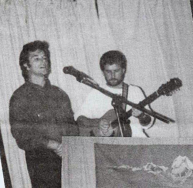 George with Rod Tyson performing at the Anniversary