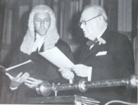 Humphries with W.Churchill
