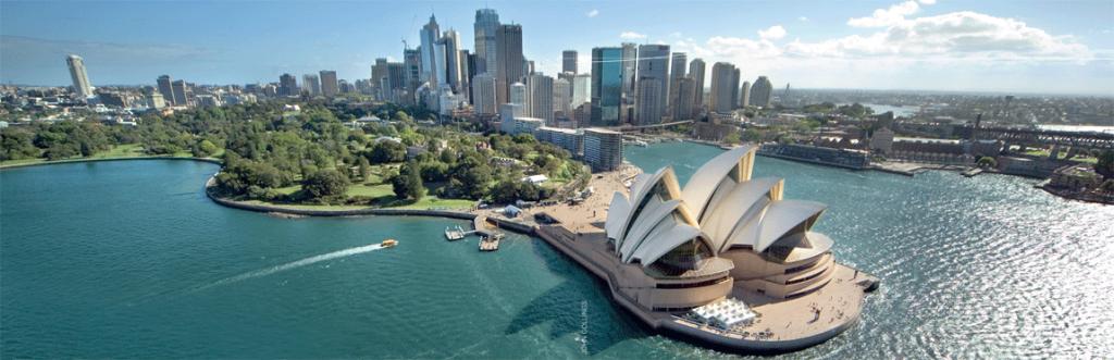 Sydney Opera House & City