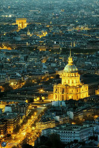 Hôtel des Invalides & Arc de Triomphe ; Photo by Jörg Dickmann