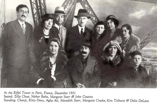 On the same visit to Paris Meher Baba and his group visited the Eiffel Tower and other landmarks.