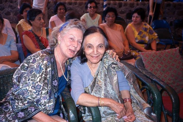 Jane & Mehera Irani at Meherabad, India