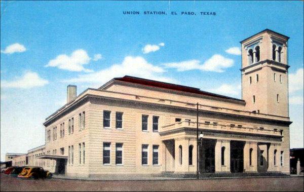 El Paso Union Station - 1921