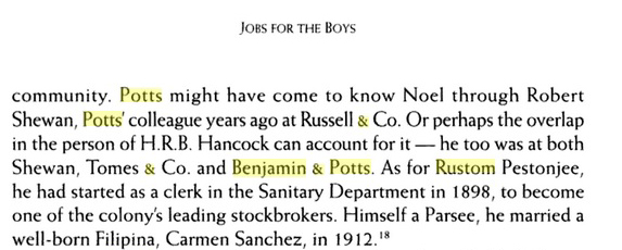 "An extract from the book ""Jobs for the Boys"""