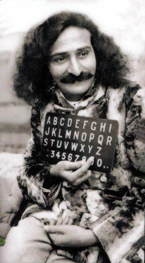 Meher Baba aboard the SS Bremen arriving at New York City in 1932