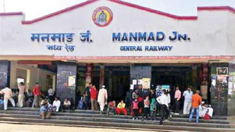 Manmad Junction Railway Station, India