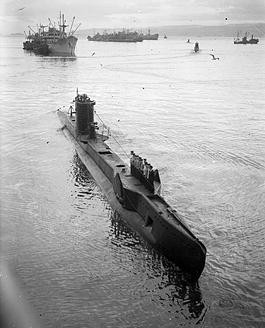 "British Submarine "" Unique """