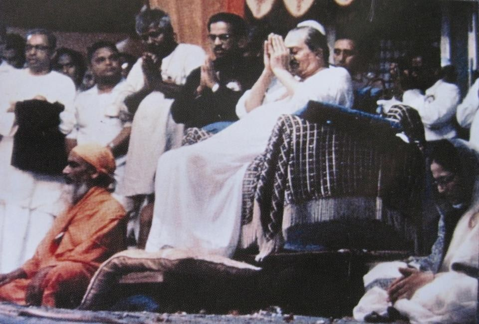 DR GSN MURTY WITH MEHER BABA