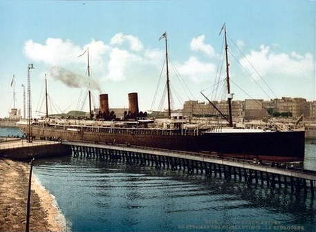 Boulogne port, France