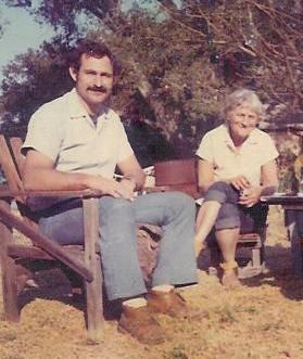 1969 : Sam Ervin & Agnes Baron.  Photo taken by Martha Aubin
