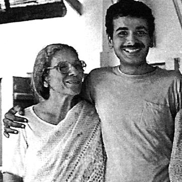 Roda with her son Falu
