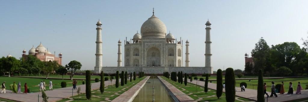 Taj Mahal - looking north