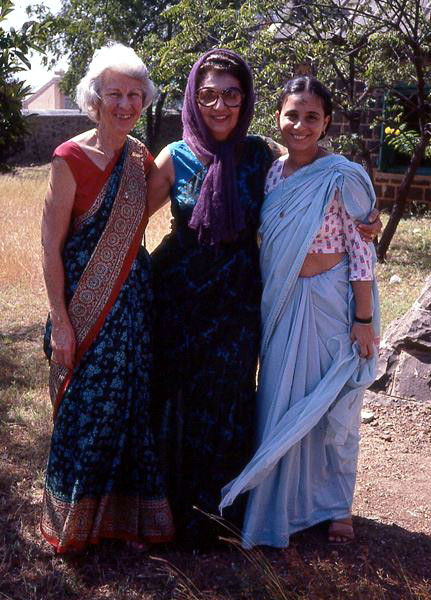 Judith Garbett, Freni Irani & Davana Brown - Courtesy of Anne Giles