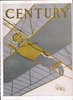 Ivy worked at Century magazine in the early 1920s.