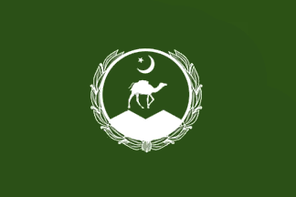 Baluchistan Provence Flag of Pakistan