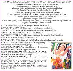 CD- BACK COVER