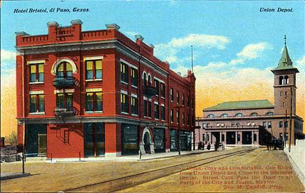 Hotel Bristol & Union Station, El Paso