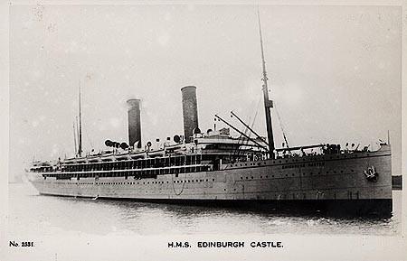 HMS EDINBURGH CASTLE