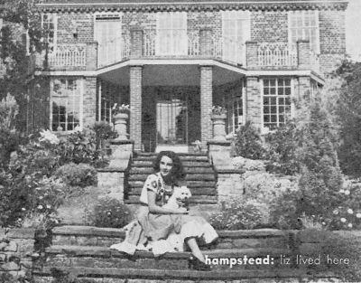 Elizabeth Taylor first home in Hampstead
