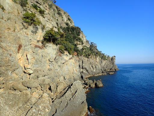 Portofino cliffs