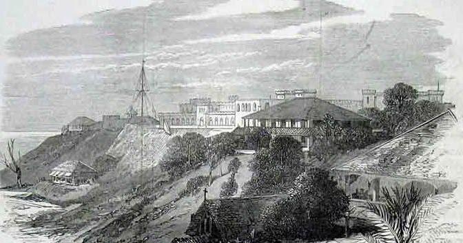 Port Blair Penal facility 1800s