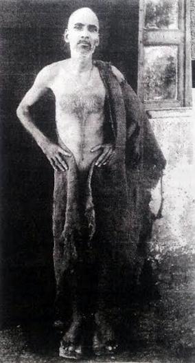 Perfect Master Upasni Maharaj in the Vithoba pose