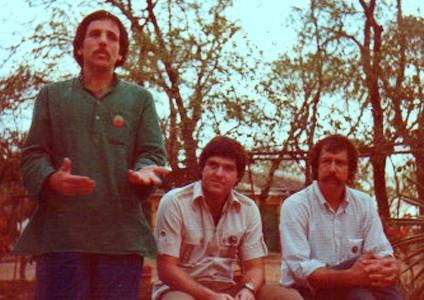 (L-R) Robert Dreyfuss, Allan Cohen & Rick Chapman