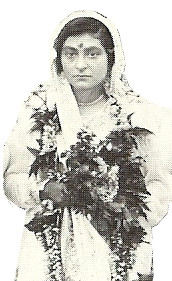On her wedding day 9th May, 1923 - Ahmednagar